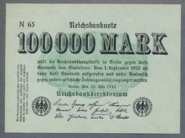 Pick91a Ro90a DEU-102b. 100000 Mark 1923 NEUF - 100000 Mark