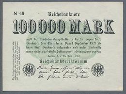 Pick91b Ro90b DEU102a. 100000 Mark 1923 NEUF - 100000 Mark