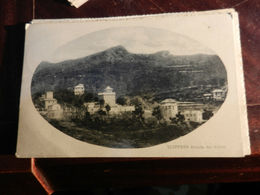 19535) SCOFFERA VEDUTA DEI VILLINI VIAGGIATA 1925 - Genova
