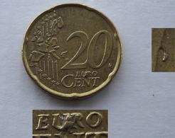 N. 70 ERRORE EURO !!! 20 CT. 2006 BELGIO ESUBERO !!! - Varietà E Curiosità