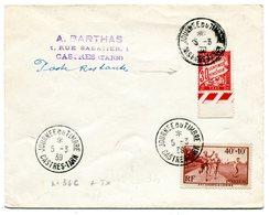 TARN De CASTRES Cachet Temporaire Journée Du Timbre Sur N°346 Du 5/03/1939+ Taxe De Poste Restante - 1921-1960: Periodo Moderno