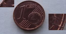 N. 71 ERRORE EURO !!! 1 CT. 2003 OLANDA FRATTURA DI CONIO !!! - Varietà E Curiosità