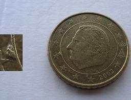 N. 72 ERRORE EURO !!! 50 CT. 2002 BELGIO ESUBERO !!! - Varietà E Curiosità