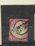 GBMi.Nr. 92 / Gr. Britannien, Victoria Mit Stempel Tundbridge Station O - Used Stamps