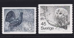 Sweden , Bird, Owl, MNH - Owls