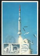 FDC Carte Maximum Premier Jour Paris Le 30/11/1965 Le N°1464  Fusée Diamant    TB Soldé à Moins De  20 %  ! ! ! - FDC