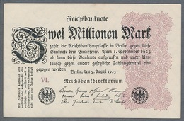 Pick104 Ro103d DEU-116a  2 Million Mark 1923 NEUF - [ 3] 1918-1933 : Repubblica  Di Weimar