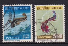Thailand 1967, Fish, Vfu. Cv 8,60 Euro - Tailandia