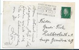 W260 / DEUTSCHLAND - Kraftpost, Stempelwerbung 1930 Aus Swinemünde N. Halberstadt - Briefe U. Dokumente