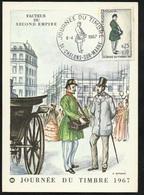 FDC Carte Maximum Premier Jour Chalons Sur Marne 08/04/1967 N°1516 Journée Du Timbre TB Soldé à Moins De  20 % !! ! - FDC