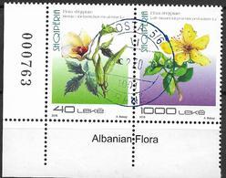2018 Albanien Mi.  Used   Flora - Albania