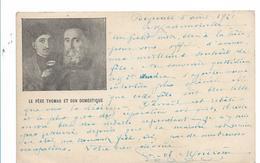 Lib038 / LIBANON - Beyrouth 1921, Seltene Bildkarte Mit O.M.F. Syrie Frankiert - Libanon