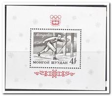 Mongolië 1964, Postfris MNH, Olympic Winter Games - Mongolië