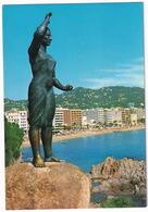 Lloret De Mar - La Mujer Marinera - (Costa Brava - Espana) - Gerona