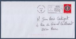 = Flamme Office Principauté De Monaco Printemps Des Arts De  Monte-Carlo 27 3 19 - Marcophilie