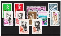 LKA255 FRANKREICH LOT Aus 1972  ** Postfrisch SIEHE ABBILDUNG - Frankreich