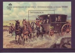 Austria 2008 - Diligenza Postale, Foglietto MNH** Integro - 2001-10 Unused Stamps