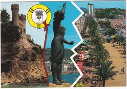 Lloret De Mar - Castillo, Mujer Marinera, Paseo  - (Costa Brava - Espana) - Gerona
