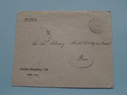 FÜSILIER-BATAILLON 138 > Zie / Voir / See PHOTO > Stamp FELDPOST / Adres > BERN ( Zie Foto's Voor Details ) ! - Militaria