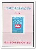 Paraguay 1963, Postfris MNH, Olympic Winter Games - Paraguay
