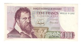 Belgio Belgium  100 Francs 1966 Lotto 2158 - [ 2] 1831-... : Regno Del Belgio