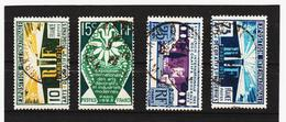 LKA287 FRANKREICH 1925 Michl 177/80 Gestempelt SIEHE ABBILDUNG - Frankreich