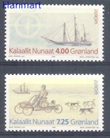 Greenland 1994 Mi 247-248 MNH ( ZE3 GNL247-248 ) - Transport