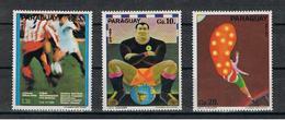 PARAGUAY:  1974  SPORT  -  S. CPL. 3  VAL  N. -  MICHEL  2532/34 - Paraguay