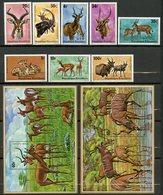 Rwanda, Yvert 611/618+BF45&46, Scott 614/621+622&623, MNH - Rwanda