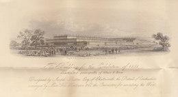 LAC à En Tête 1ère Exposition Universelle à Londres 1851 (voir Détails Et 4 Scans)) - Documentos Históricos