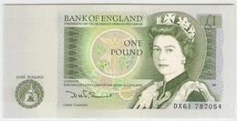 Royaume-Uni - 1 Pound UNC/NEUF - Elizabeth II / Issac Newton -  Série DX61 - 1952-… : Elizabeth II