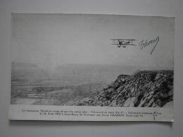 13 Saint Rémy De Provence, Le 26 Août 1924. Carte Dédicacée. Le Lieutenant Thoret Au Cours De Ses Vols ... (1389) - Saint-Remy-de-Provence