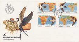CISKEI  -  FDC 1984  -  MIGRATORY  BIRDS - Ciskei