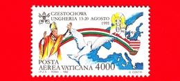 Nuovo - MNH - VATICANO - 1992 - Viaggi Di Giovanni Paolo II Nel 1991 - POSTA AEREA - Czestochowa E Ungheria - 4000 - Poste Aérienne