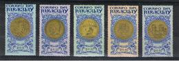 PARAGUAY:  1965  CENTENARIO  -  S. CPL. 5  VAL  T.L. -  MICHEL  1408/12 - Paraguay