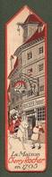 """09143 """"SEGNALIBRO - LA MAISON CHERRY ROCKER - LIQUEUR DE CERISES - 1930"""" ANIMATO ORIG - Segnalibri"""