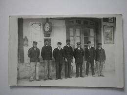 66 Amélie Les Bains. Carte Photo, Personnel De La Gare (1394) - France