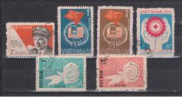 VIETNAM  REPUBBLICA:  1986  VARI  -  6  VAL.  US. -  MICHEL  1680//1742 - Vietnam