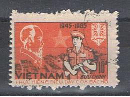VIETNAM  REPUBBLICA:  1985  LOTTA  - 10 D. ARANCIO  E  BRUNO  US. -  MICHEL  1605 - Vietnam