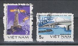VIETNAM  REPUBBLICA:  1985  PHONG  HAI  PHONE  -  S. CPL. 2  VAL.  US. -  MICHEL  1560/61 - Vietnam