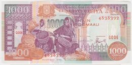 Somalia P 37 B - 1000 1.000 Shilin Shillings 1996 - UNC - Somalia