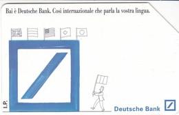SCHEDA TELEFONICA  DEUTSCHE BANK  SCADENZA 30/06/1996 USATA - Italy