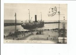 LA PALLICE-ROCHELLE - Départ D'un Paquebot - LL - La Rochelle