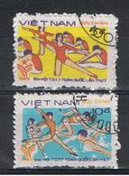 VIETNAM  REPUBBLICA:  1985  SPORTS  -  S. CPL. 2  VAL.  US. -  MICHEL  1606/07 - Vietnam