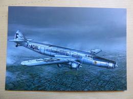 AIR FRANCE  DEWOITINE 338   F AQBL - 1946-....: Modern Era