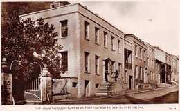 ST. HELENA - THE HOUSE NAPOLEON SLEPT ON HIS 1st NIGHT ~ PHOTO POSTCARD #92809 - Sant'Elena