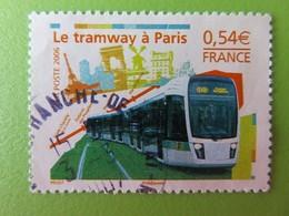 Timbre France YT 3995 - Le Tramway à Paris - Rame Du Tramway Parisien - 2006 - France