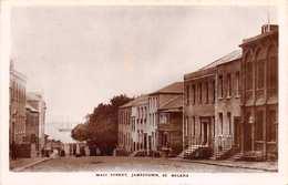 ST. HELENA - MAIN STREET JAMESTOWN ~ A REAL PHOTO POSTCARD #92813 - Saint Helena Island