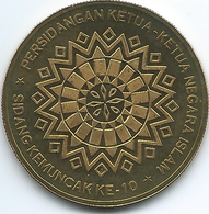 Malaysia - 1 Ringgit - 2003 - 10th Session Of The Islamic Summit Conference - KM177 - Malaysia