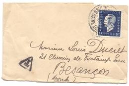 France Bande De Journal Avec Journal Tarif A 40 C Dulac Taxe - 1921-1960: Modern Period